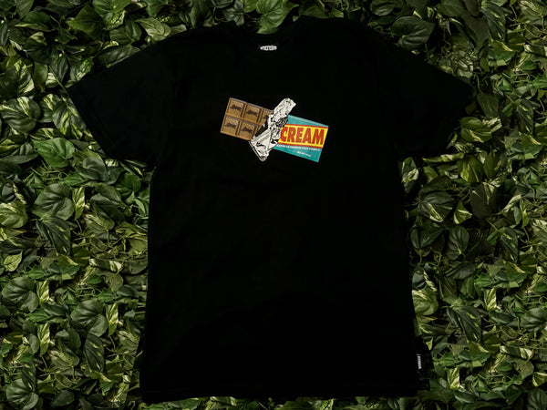 Men's ICECREAM Crunch S/S Tee [491-7203-BLK]