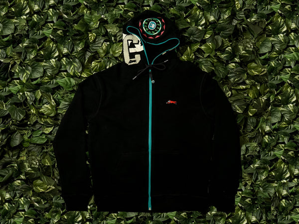 Men's ICECREAM Block Head Hoodie [491-7302-BLK]