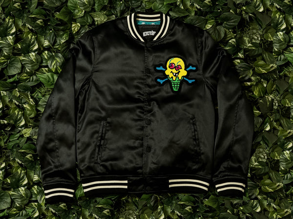 Men's ICECREAM Bones Jacket [491-7400-BLK]