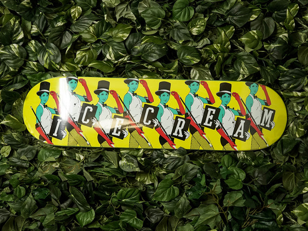 ICECREAM Top Hat Skate Deck [491-7808-BLK]