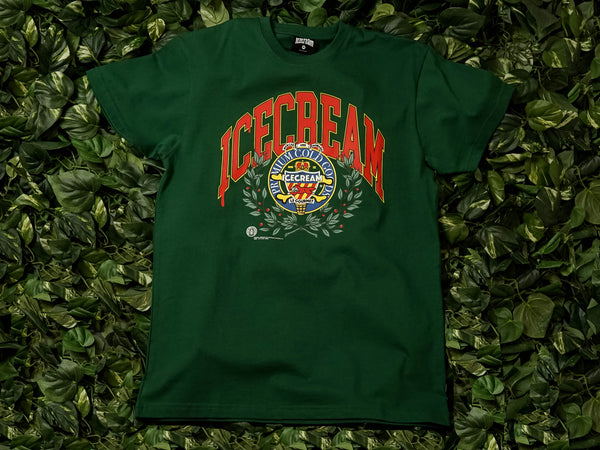ICECREAM Regal S/S Tee [491-8205-GRN]