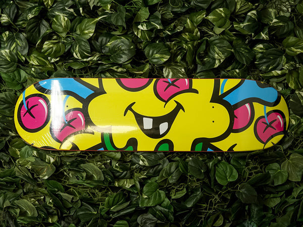 ICECREAM Three Skate Deck [491-8801-YLLW]