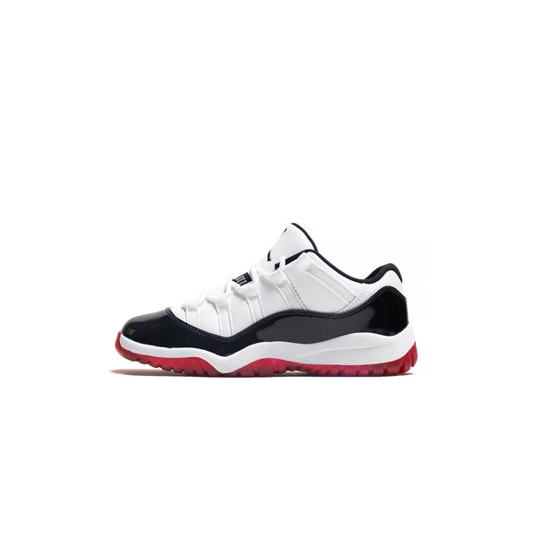 Kids Air Jordan Retro 11 Low PS 'Gym Red' Shoes