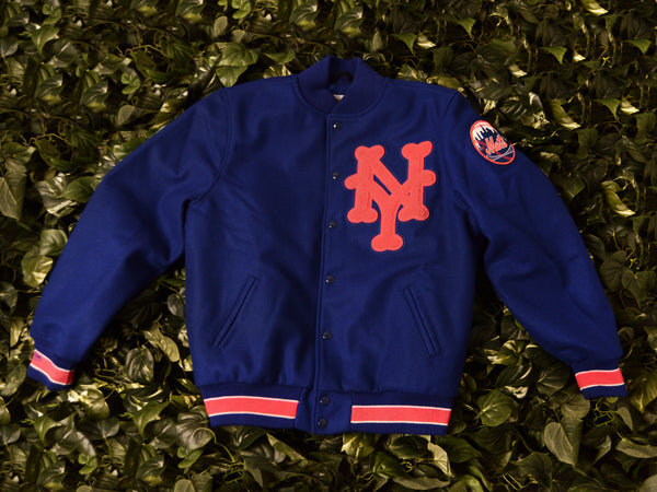 Mitchell & Ness Authentic Mets Varsity Jacket [5443A-417-ANYMGH]