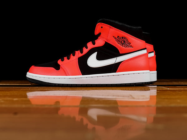 Men's Air Jordan 1 Mid 'Infrared' [554724-061]