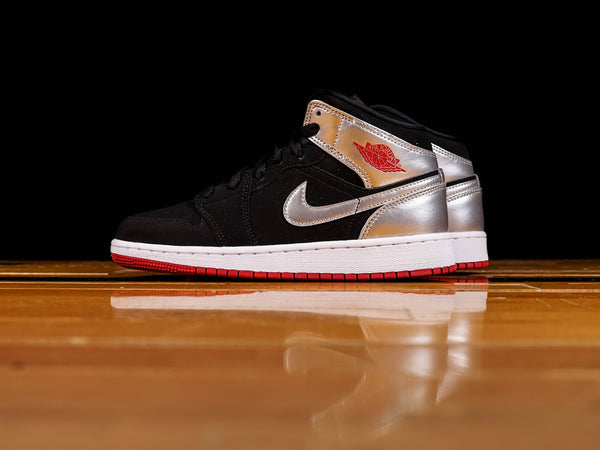 Kid's Air Jordan 1 Mid GS [554725-057]