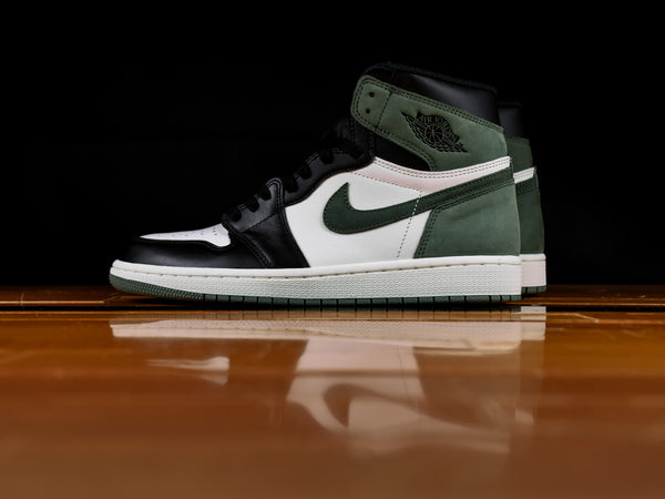 Men's Air Jordan 1 Retro High OG 'Clay Green' [555088-135]