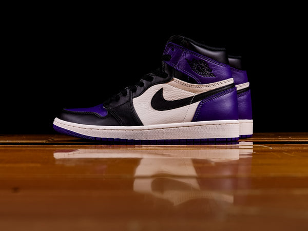 Men's Air Jordan 1 Retro High OG 'Court Purple' [555088-501]