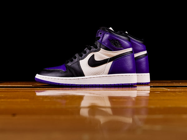 "Kid's Air Jordan 1 Retro High  ""Court Purple"" (GS) [575441-501]"