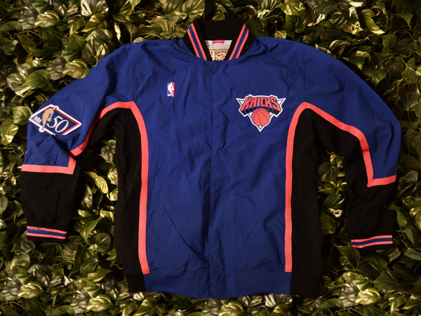 Mitchell & Ness Authentic 1996 Knicks Warmup Jacket [6056A-318-I-96NYK]