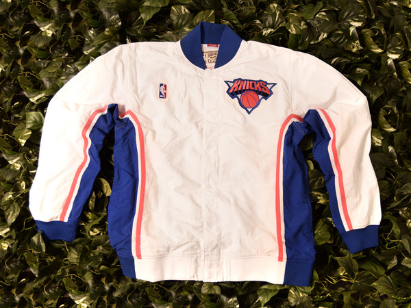 Mitchell & Ness Authentic 1993 Knicks Warmup Jacket [6056A-333-K-93-NYK]