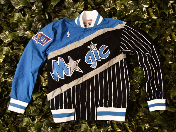 Mitchell & Ness Authentic 1996 Magic Warmup Jacket [6056A-319-I-96OMA]