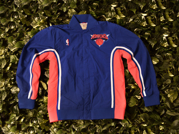 Mitchell & Ness Authentic 1992 Knicks Warmup Jacket [6056A-318-92NYK]