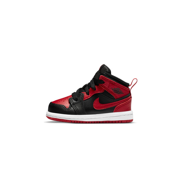 Air Jordan 1 Infants Mid 'Banned TD Shoes