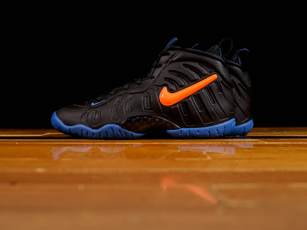 Kid's Nike Little Posite Pro GS 'Knicks' [644792-011]