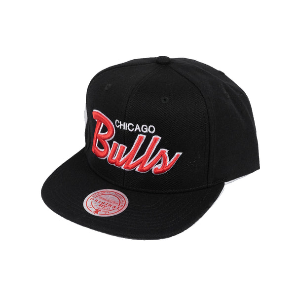 Mitchell & Ness NBA 'Chicago Bulls' Script Snapback Hat