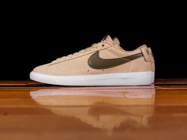Men's Nike SB Blazer Zoom Low GT 'Desert Ore' [704939-200]