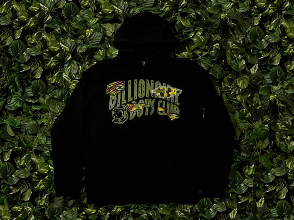 Men's Billionaire Boy's Club Camo Breaks Hoodie [801-1309-BLK]