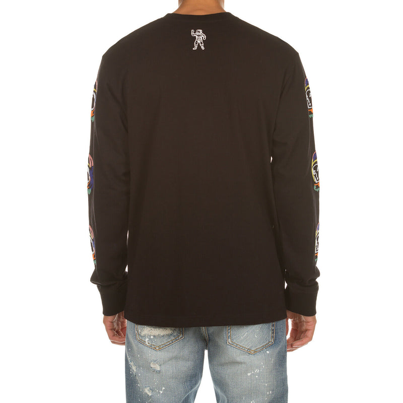 Billionaire Boys Club Mens BB Abstract Arch LS Knit Tee