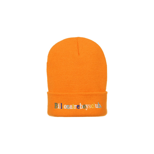 Billionaire Boys Club Mens BB Alphabet Beanie