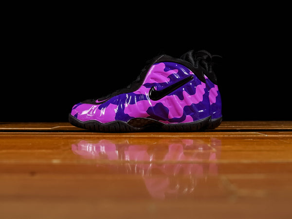 Kid's Nike Air Lil Posite Pro PS 'Purple Camo' [843755-012]