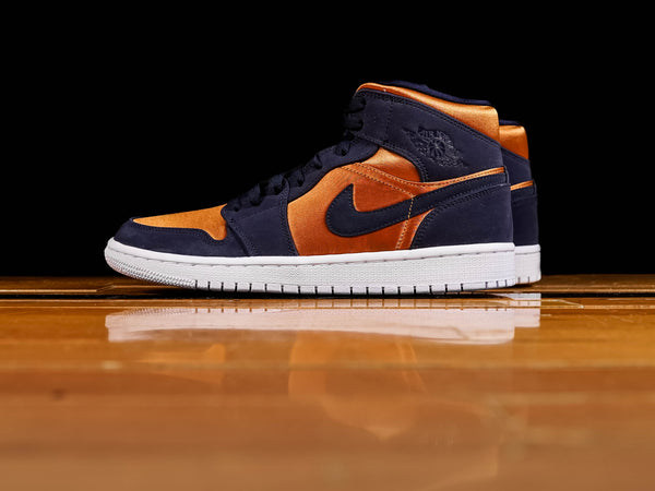 Men's Air Jordan 1 Mid 'Obsidian' [852542-401]