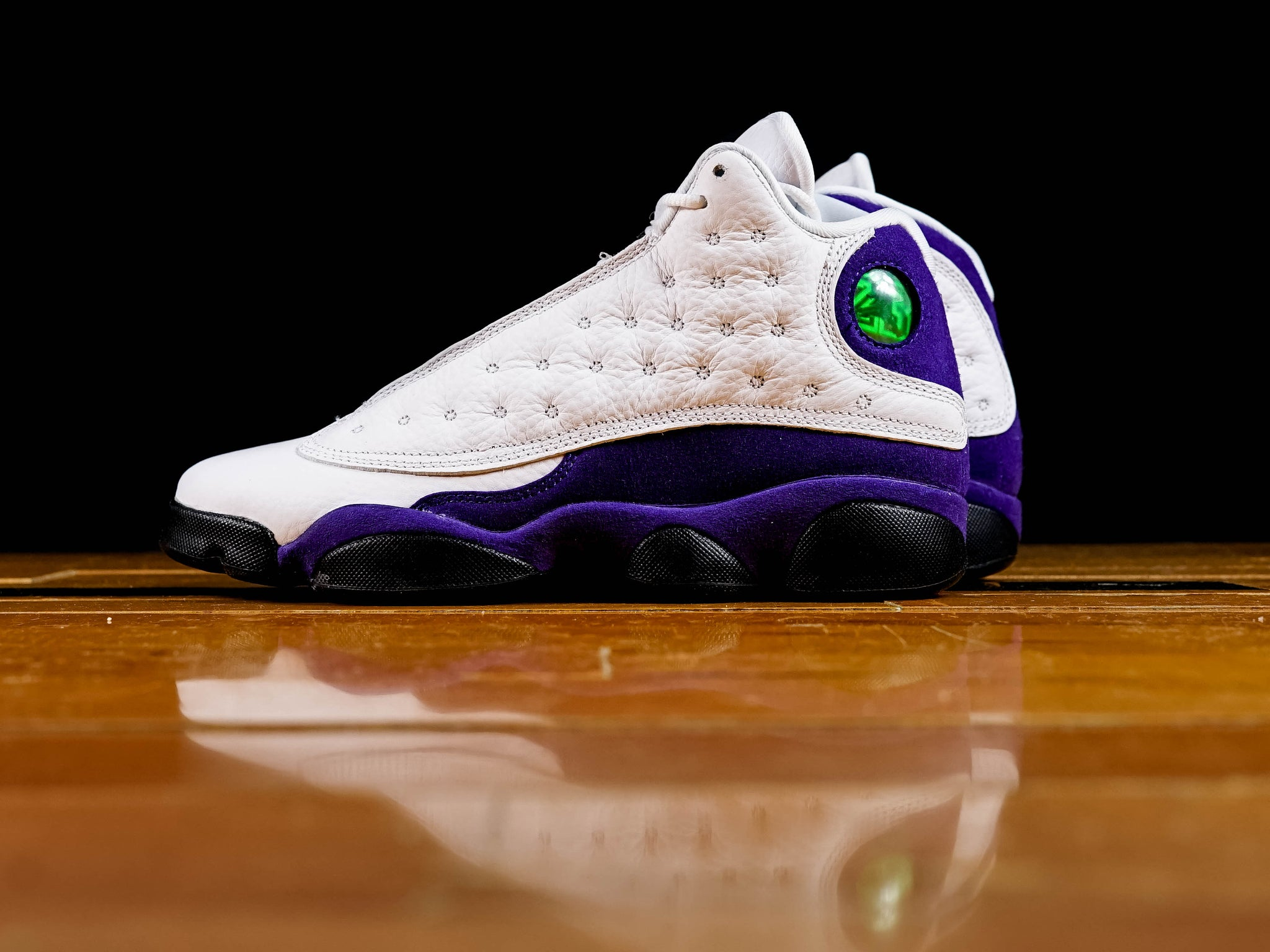 info for e095e c130d Kid's Air Jordan 13 Retro GS 'Lakers' [884129-105]