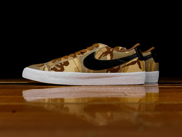 Men's Nike SB Blazer Zoom Low 'Desert Camo' [889053-200]