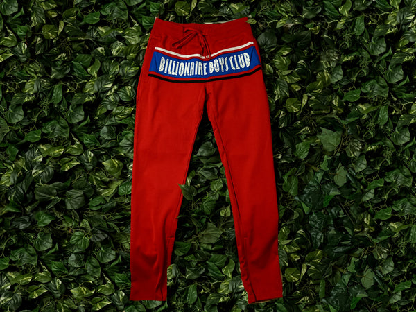 Men's Billionaire Boy's Club Jumper Track Pant [891-1103-RED]