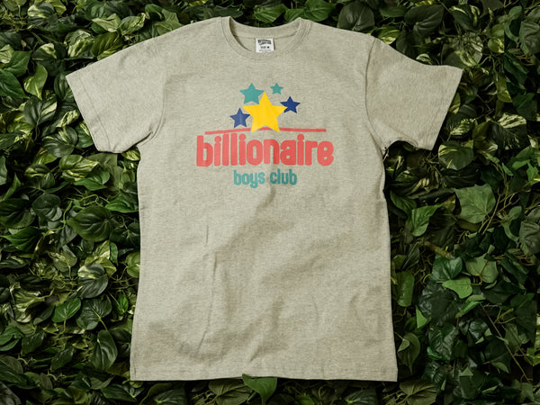 Billionaire Boys Club BB Fresh Stars S/S Tee [891-1203-GREY]