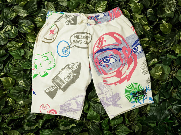 Men's Billionaire Boys Club Cortex Shorts [891-3102-WHT]