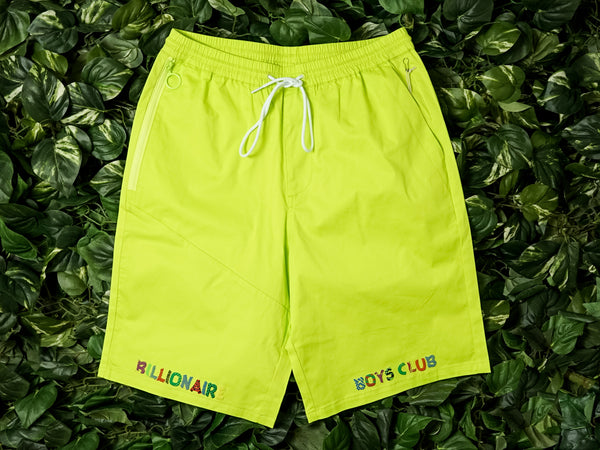 Men's Billionaire Boy's Smiles Shorts [891-4101-LIME]
