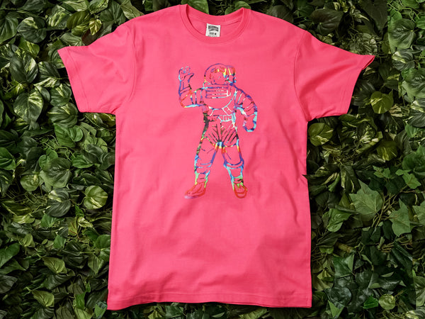 Men's Billionaire Boy's Club 'Tie Dye Astro' SS Tee [891-4200-PNK]