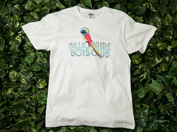 Men's Billionaire Boy's Club 'Parrot' SS Tee [891-4204-WHT]