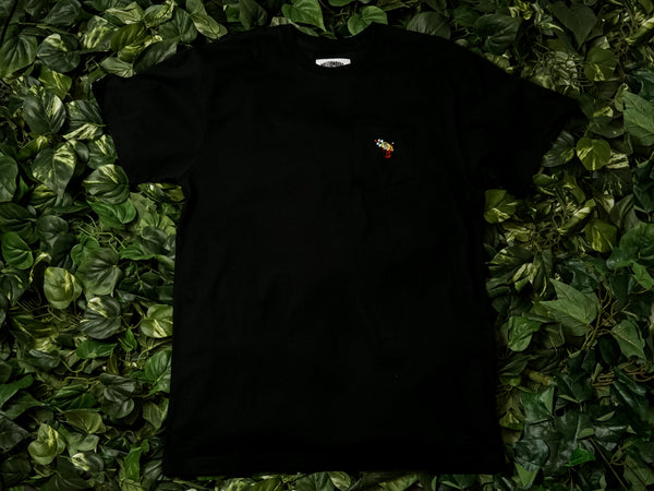 Men's Billionaire Boy's Club 'Pocket Blaster' SS Tee [891-4306-BLK]