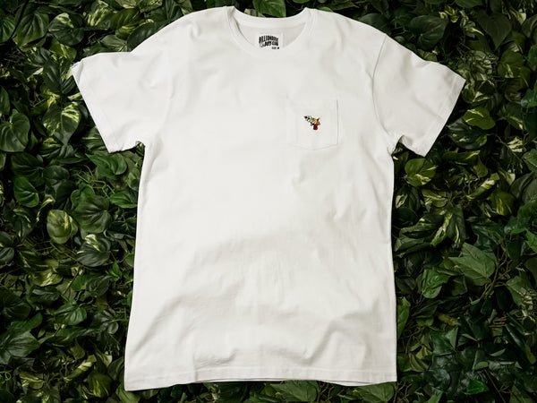 Men's Billionaire Boy's Club 'Pocket Blaster' SS Tee [891-4306-WHT]