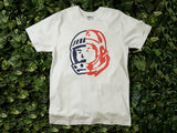 Men's Billionaire Boys Club Spacewalk S/S Tee [891-6207-WHT]