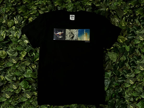 Men's Billionaire Boys Club Triptych S/S Tee [891-6308-BLK]