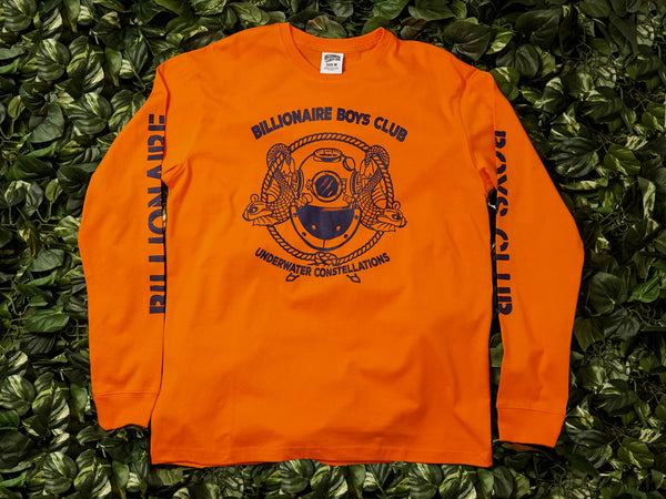 Men's Billionaire Boys Club Mission L/S Tee [891-7204-GLD]
