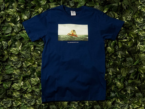 Men's Billionaire Boys Club Stranded S/S Tee [891-7211-BLU]