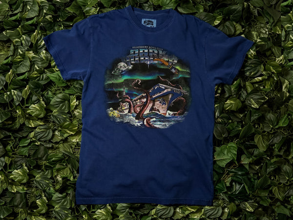 Men's Billionaire Boys Dark Aurora S/S Tee [891-7312-BLU]