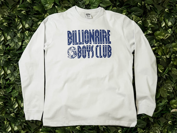 Men's Billionaire Boys Club Interplanetary LS Tee [891-8207-WHT]