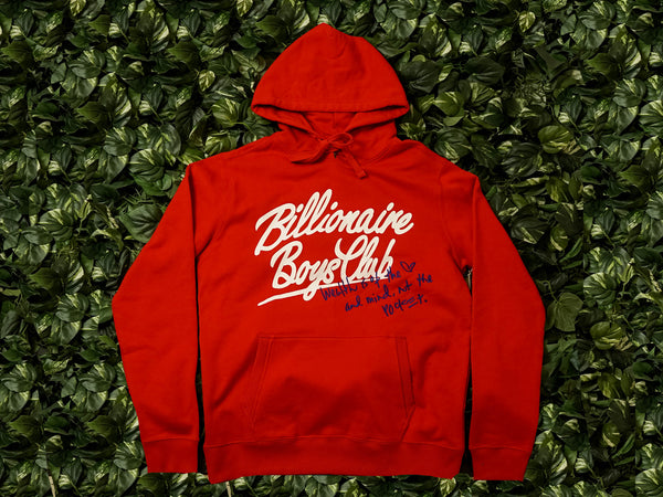 Men's Billionaire Boys Club Mind Hoodie [891-8305-RED]