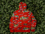 Men's Billionaire Boys Club Island Hoodie [891-8311-RED]