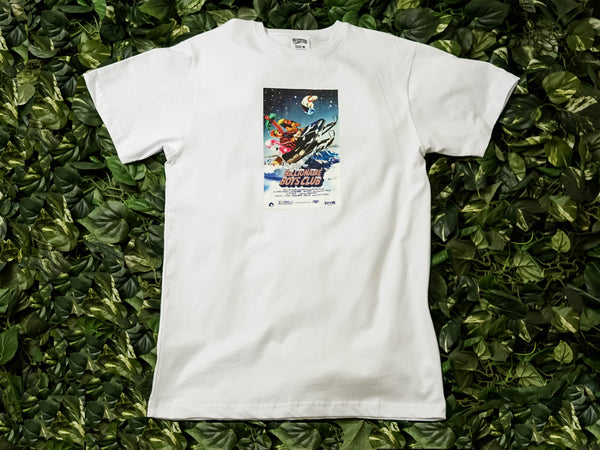 Men's Billionaire Boy's Club Poster S/S Tee [891-9203-WHT]