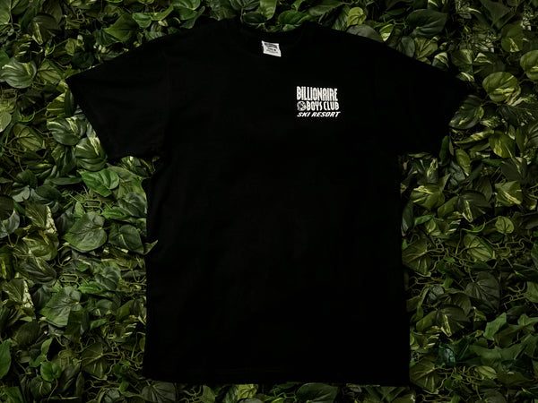 Men's Billionaire Boy's Club Ski Resort S/S Tee [891-9206-BLK]