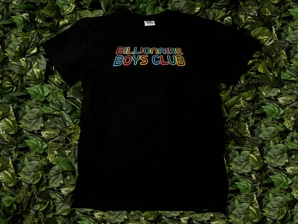 Men's Billionaire Boy's Club Neon S/S Tee [891-9211-BLK]