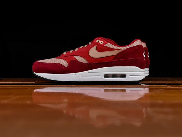 Men's Nike Air Max 1 'Red Curry' [908366-600]