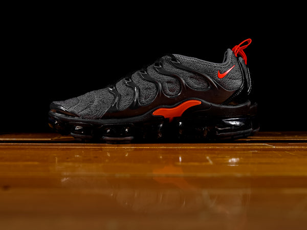 Men's Nike Air VaporMax Plus 'Cool Grey / Team Orange' [924453-012]