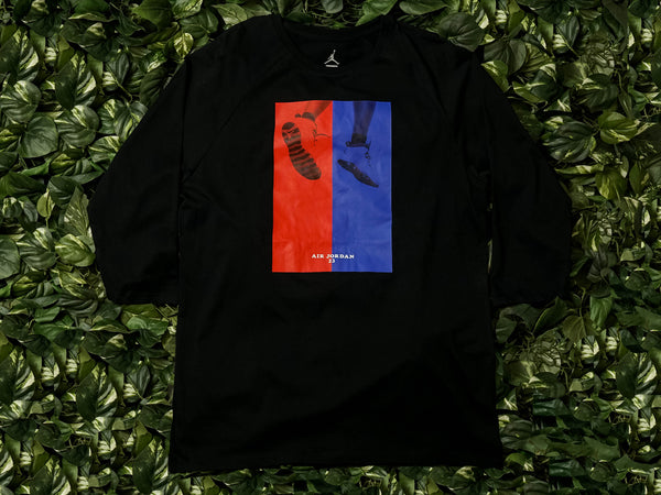 Men's Air Jordan 10 CNXN 3/4 Raglan Tee [AA1879-010]